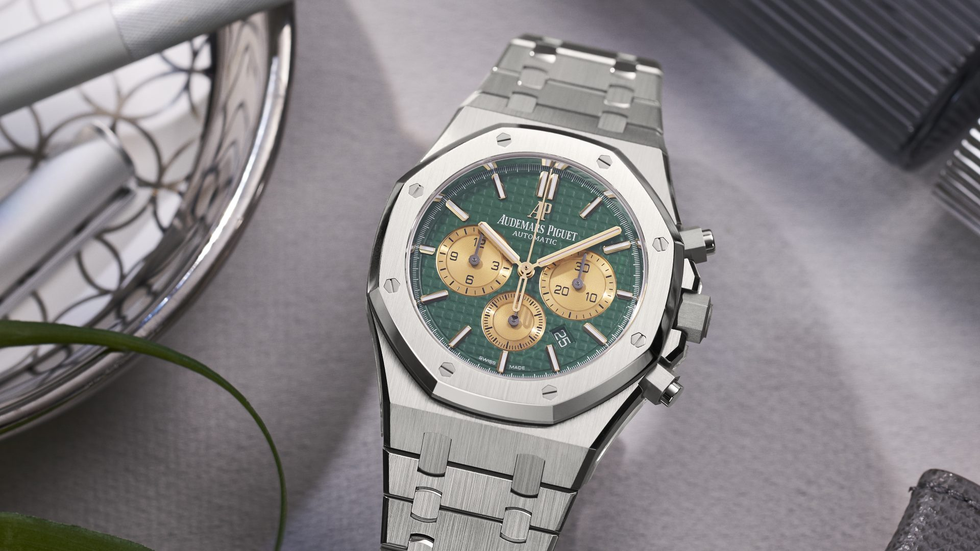 The Hour Glass Introduces Its Exclusive Limited Edition Audemars Piguet Royal Oak Chronograph