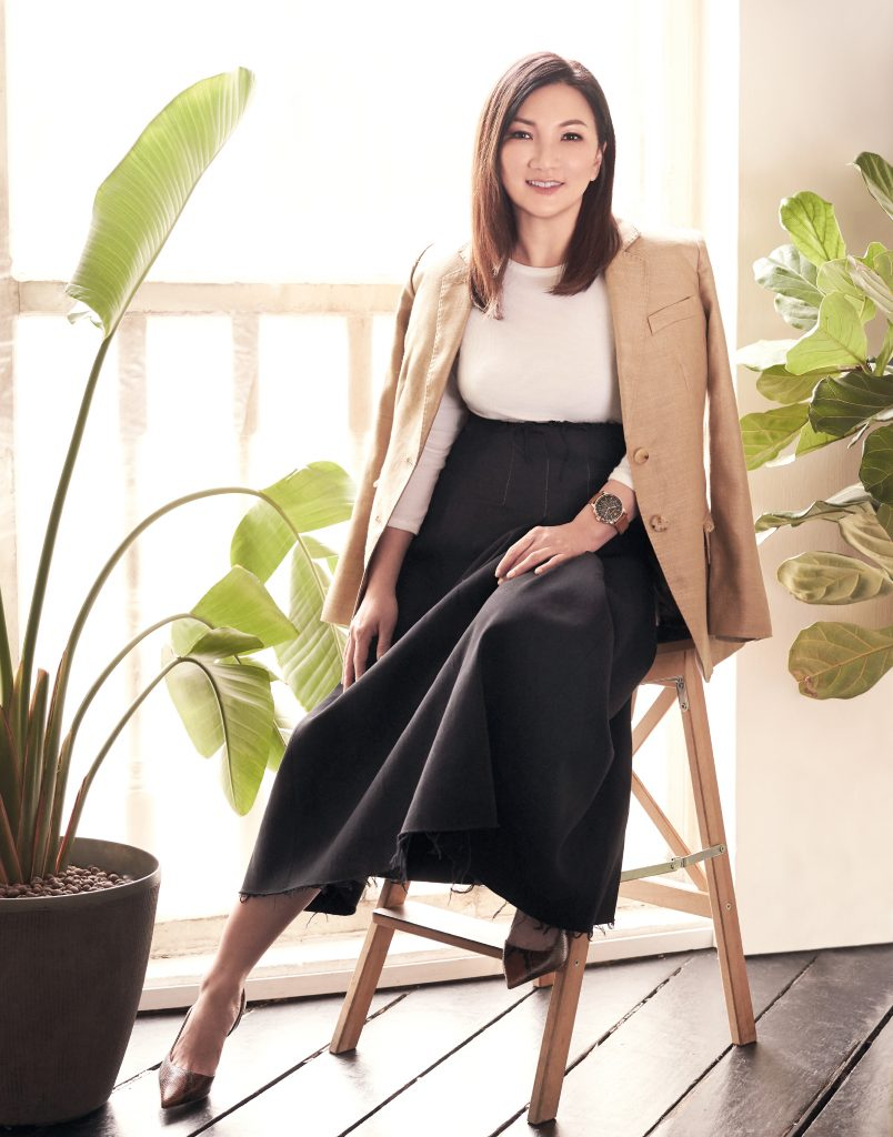 """Don't Worry, Be Happy,"" says Spa Esprit Group Founder Cynthia Chua"