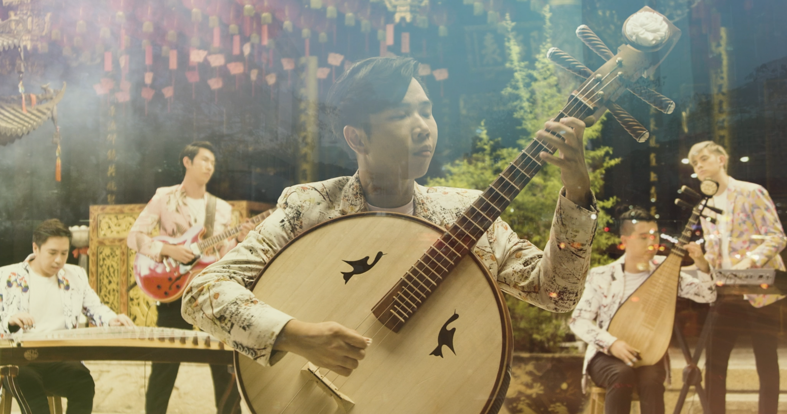 Classical Chinese Music, With A Tamil Twist