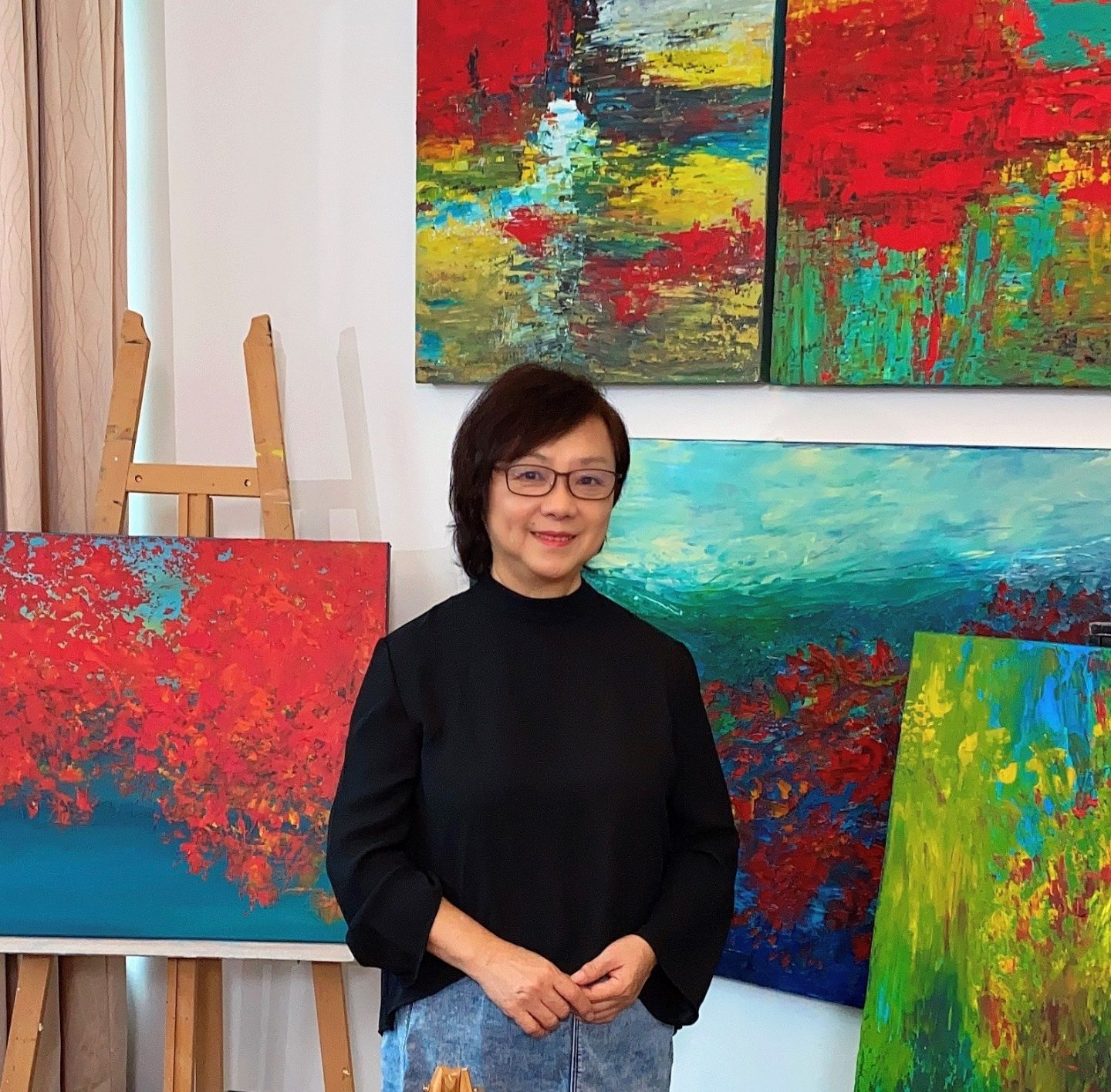 Giving HeART: Artworks By Shirley Bok Do Good And Brighten Up Your Day