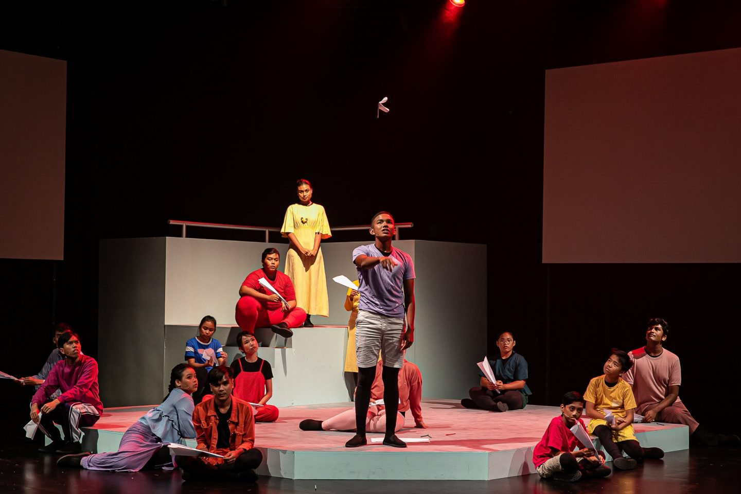 Beyond Social Services Entertains And Engages Marginalised Youths With The Community Theatre