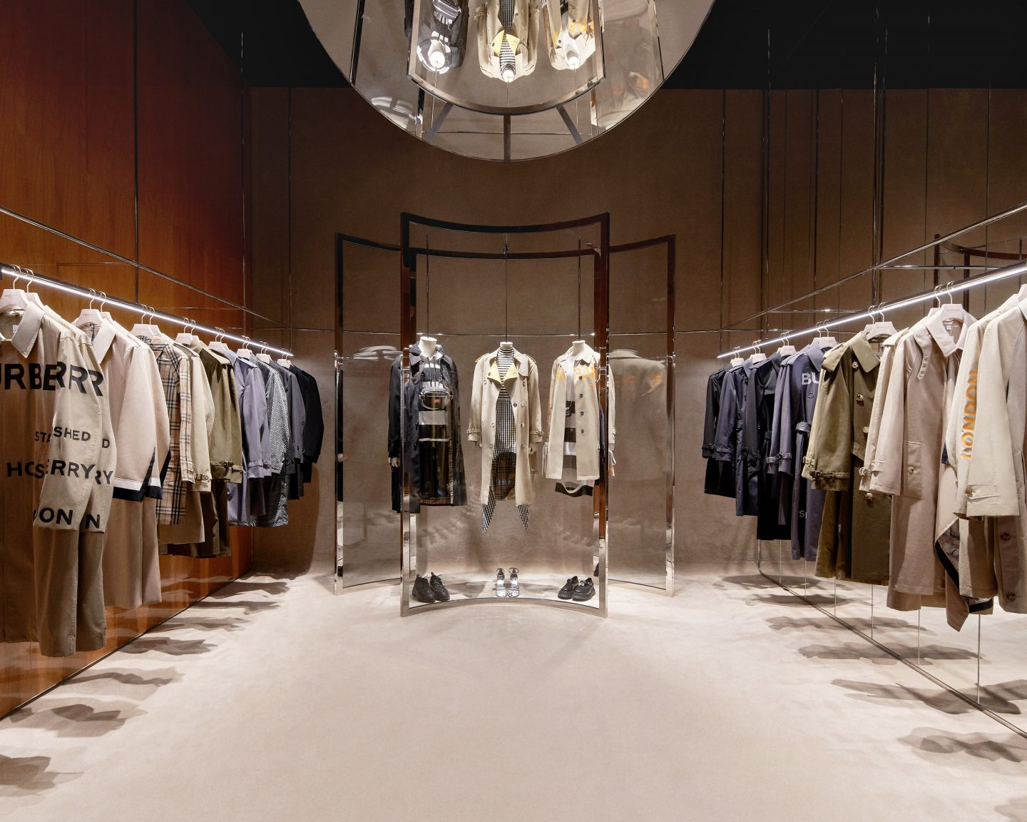 Burberry's Newest Store In Shenzhen Blends Luxury With Future Tech