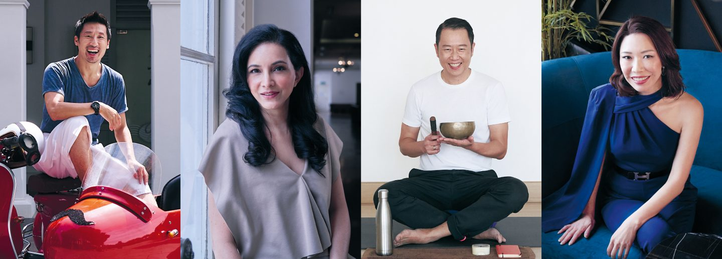 Grit Before Glitter: Simon Wong, Veronica Shim, Tan Cheen Chong & Kamini Ramachandran