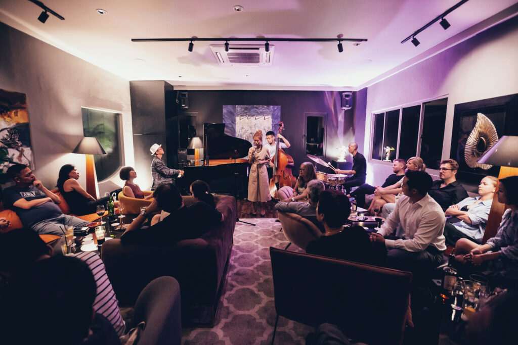 Jazz is best experienced in a live setting as it allows musicians to build rapport with their audiences